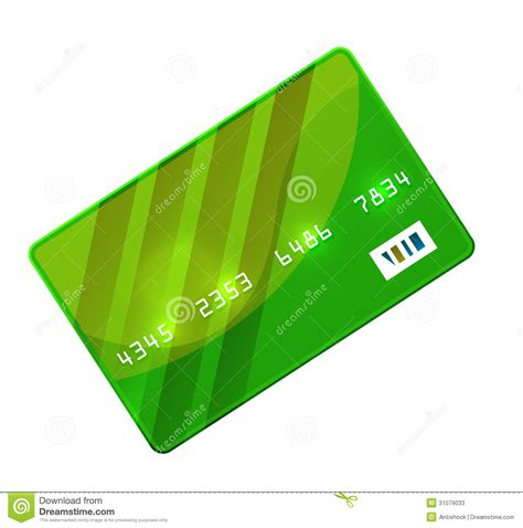 Credit Card Data Format Color Credit Card Vector Stock Photos Image 31079033