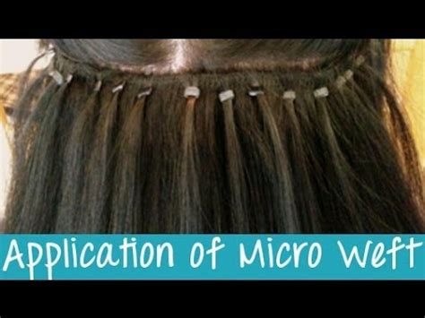 beaded hair extensions pros and cons micro weft hair extensions application instant beauty