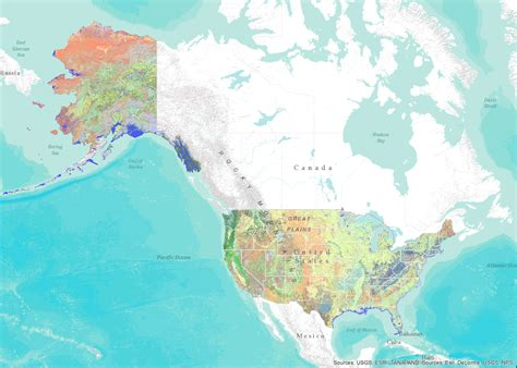 map of united states including alaska map of the united states showing alaska and hawaii map of