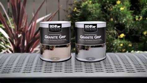 How To: Apply BEHR PREMIUM® Granite Grip?   YouTube