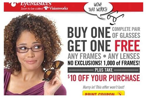 visionworks glasses coupons