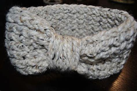 knitting loom ear warmer pattern hello world tutorial knifty knitter ear warmer headband