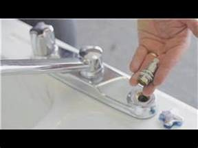 How To Stop A Leaky Faucet In The Kitchen Faucet Repair How To Repair A Dripping Kitchen Two