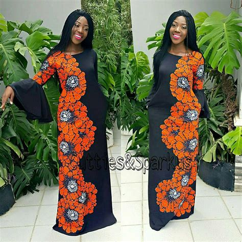flowing gowns ankara free flowing ankara gowns latest ankara styles 2018