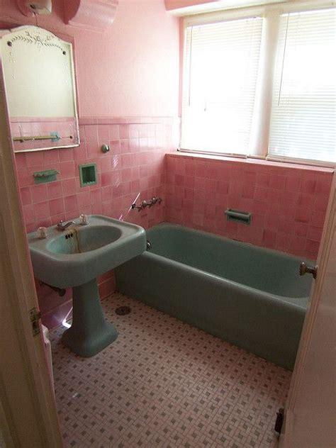 old pink bathroom vintage pink tile bathroom from 1920 s bathrooms i covet