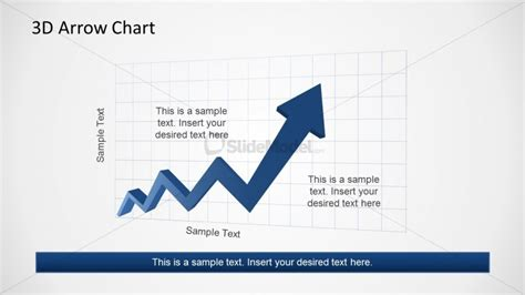 can you use arrows to show trends in excel zig zag rising arrow chart for powerpoint slidemodel