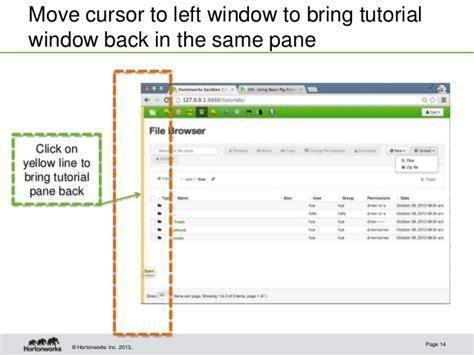 hortonworks tutorial github hortonworks sandbox startup guide for virtualbox