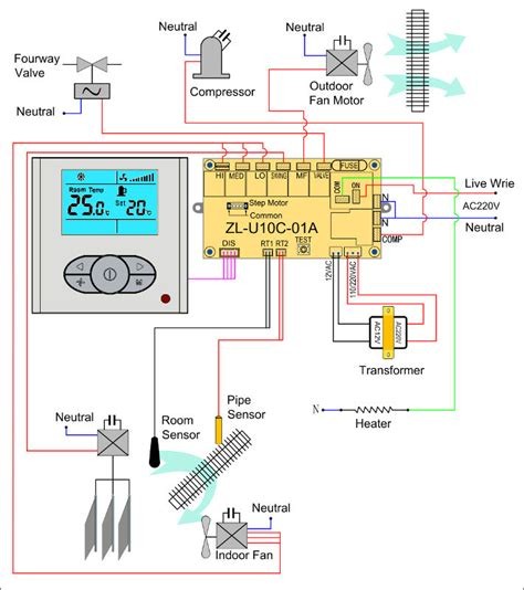 wiring diagram ac split duct 28 images toshiba split