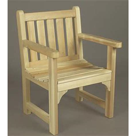 Unfinished Patio Furniture Rustic Cedar Unfinished Garden Chair 200447 Patio Furniture At Sportsman S Guide