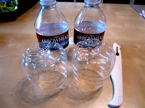water bottle craft ideas for recycled arrowhead water bottle pineapple diy inspired
