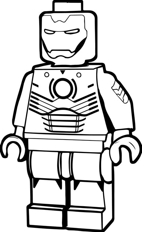 blank lego man coloring page printable coloring pages