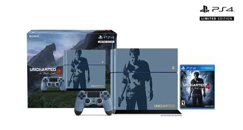 Ps4 Uncharted 4 Limited Tanpa uncharted on playstation 4 pre order