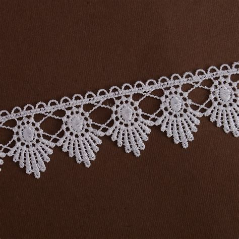 Lace Trim Lace chemical lace trim white