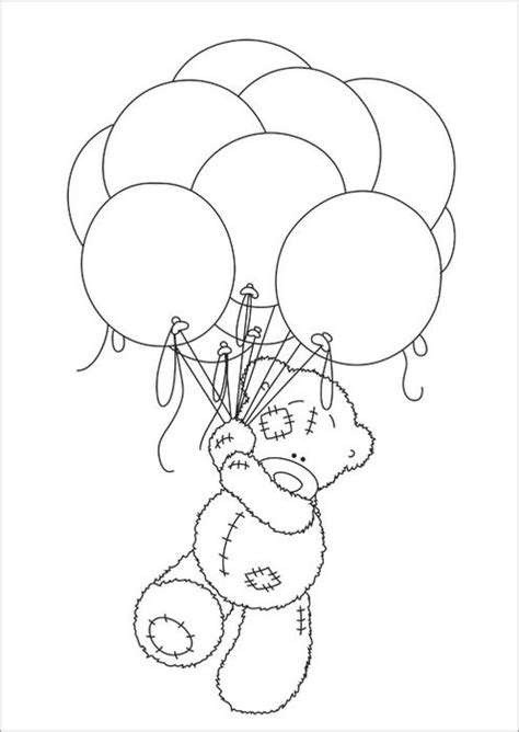 Free Coloring Pages Of Tatty Teddy Friends Me To You Colouring Pages