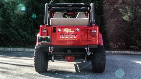 lowered 4 door jeep wrangler 2001 jeep wrangler unlimited 4 door custom low miles