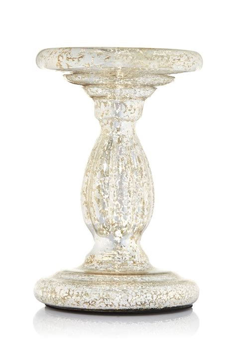 Glass Pedestal Candle Holders 1000 Images About I Mercury Glass On