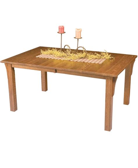 Mission Dining Table Mission Leg Dining Table Amish Direct Furniture