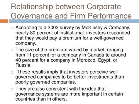 better corporate governance introduction to the corporate governance