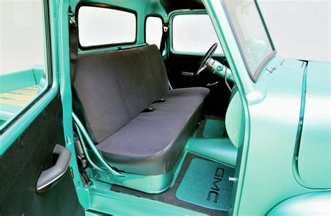 1950 chevy truck seat frame 1950 gmc five window personality transplant rod