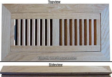 Wood Heat Registers   Oak Vent Cover