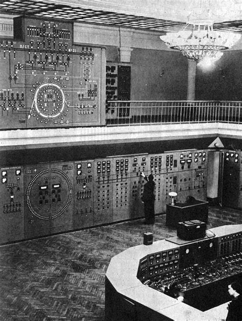 Soviet particle accelerator control panel, 1968 / Boing Boing