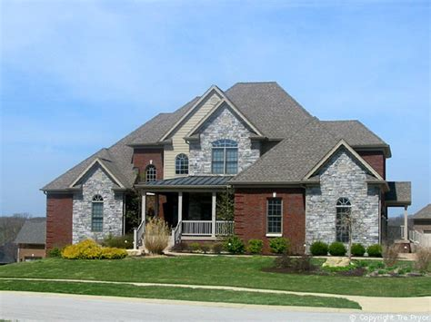 home exterior design brick and stone brick homes for modern pedestrian look stone and brick