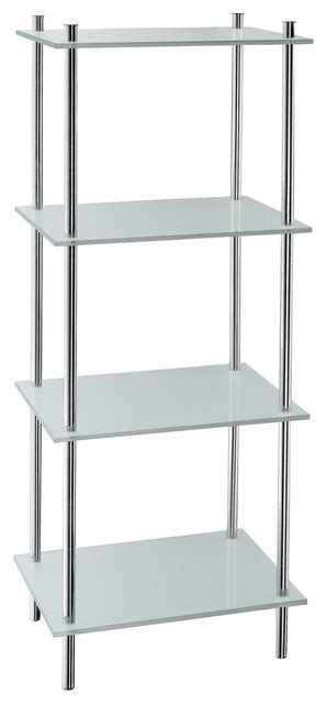 bathroom steel shelves outline free standing bathroom shelf 4 shelves stainless