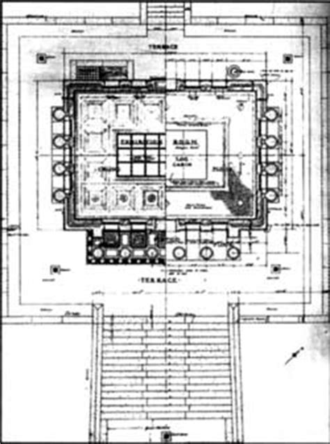 lincoln memorial floor plan abraham lincoln birthplace nhs historic resource study