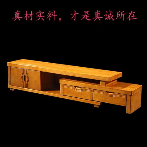 Retractable Tv Cabinet Living Room Furniture 2017 Oak Tv Cabinet Retractable Tv Cabinet All Solid Wood Living Room Furniture Combination Of