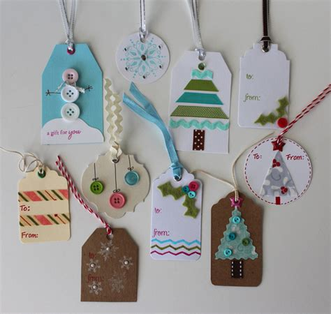 Handcrafted Gift Tags - once a month handmade gift tags more the