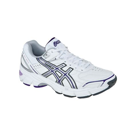 white athletic shoes womens womens asics gel 180 tr running shoes leather white silver