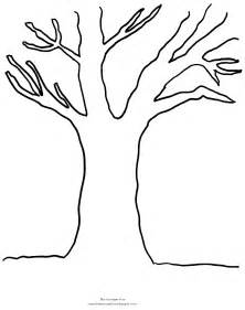 fall tree color page coloring pages fall