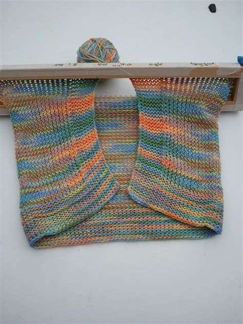 how to use a knitting board s baby blanket 171 kb looms