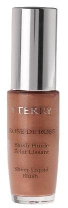 by terry liquid blush in rose best things in beauty by terry rose de rose sheer liquid