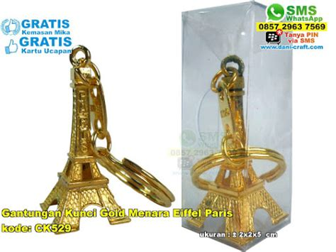 Souvenir Gantungan Kunci Eiffel gantungan kunci menara eiffel warna copper souvenir