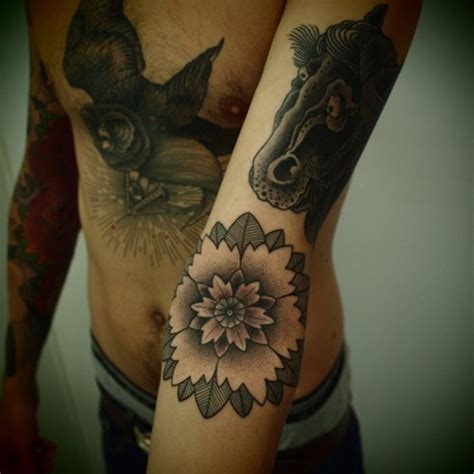 oriental owl tattoo horse owl and flower tattoos for men tattoo ideas