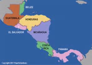 Central America Map In Spanish by Spanish For Every1
