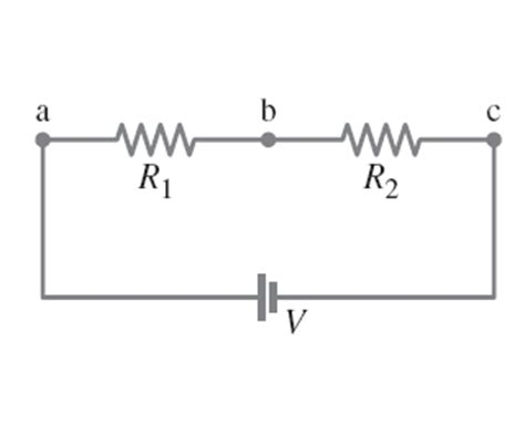 two resistors in series mastering physics figure 1 figure 2 an electronic circuit has two 12 chegg