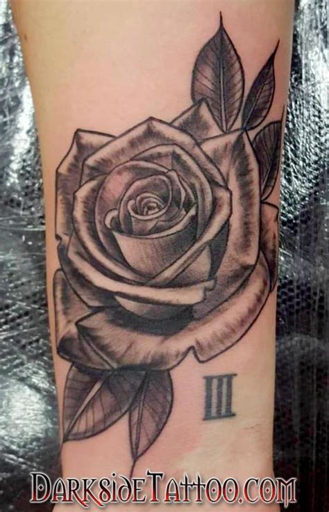 black and gray rose tattoos tattoo collections