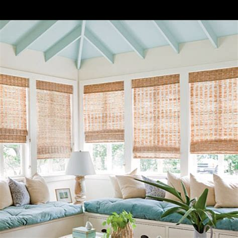 ceiling blinds for sunrooms sunroom home decorating ideas