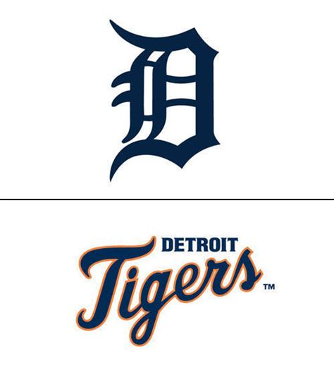 detroit tigers logo design history and evolution