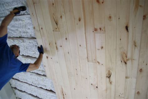 tongue and groove beadboard planks house tweaking