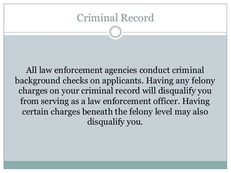 Criminal Record Check Ns Careers In Enforcement Common Requirements