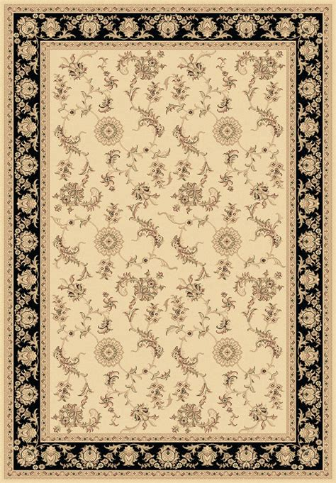 legacy rugs ivory black 58017 190 legacy rug by dynamic