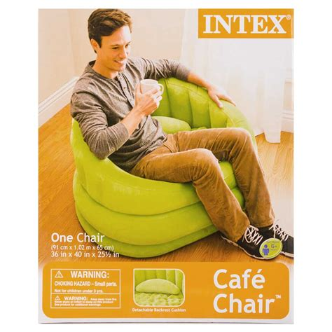 blow up armchair green inflatable air blow up arm chair couch sofa seat lounge armchair portable ebay