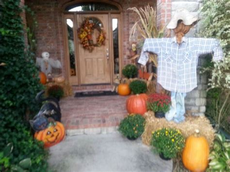 Thanksgiving Outdoor Decor Thanksgiving Outdoor Decor Halloween Pinterest