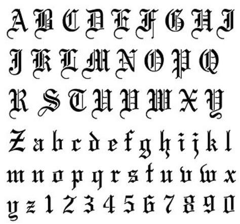 letras goticas letras orientales tatuajes de goticas con el nombre tattoo