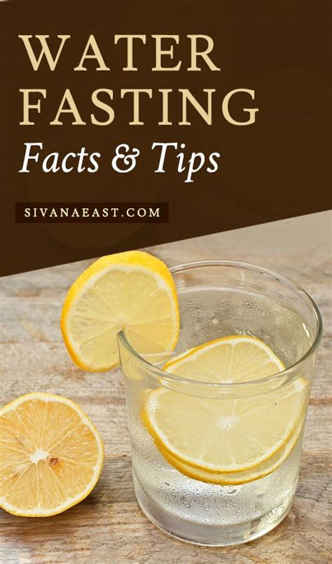 Detox Water Fasting by Water Fasting Facts And Tips Water Water Fasting And Detox