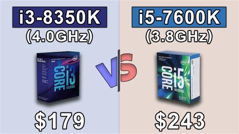 Ntel I5 7600k 3 8ghz Up To 4 2ghz Cache 6mb Box Soc intel i3 8350k 4 0ghz vs i5 7600k 3 8ghz 20 benchmark