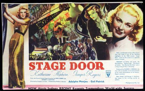 Stage Door 1937 by Top 15 Katharine Hepburn Brothers Ink Productions